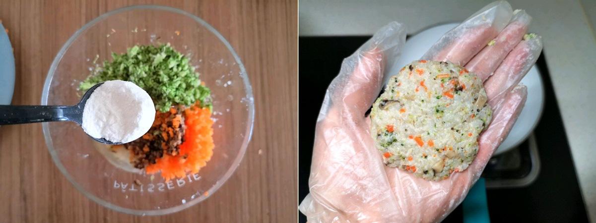 Tận dụng cơm nguội, tôi làm cơm viên rau củ mang đi làm ăn trưa hôm sau vừa tiện vừa ngon - Ảnh 3