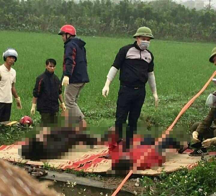 Phát hiện thi thể người phụ nữ mang thai cùng chồng dưới mương nước ở Thái Bình - Ảnh 1