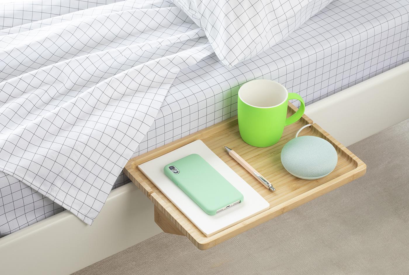 Chỉ cần kê thêm dụng cụ này, phòng ngủ nhỏ hẹp sẽ biến hóa trong tích tắc - Ảnh 1