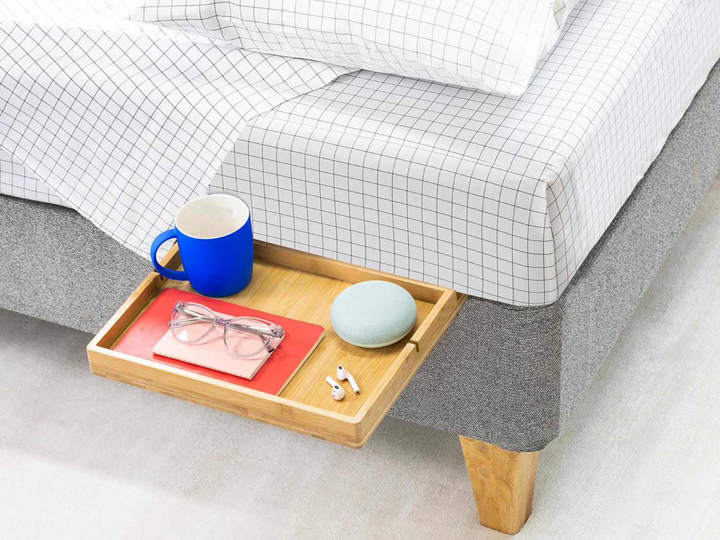 Chỉ cần kê thêm dụng cụ này, phòng ngủ nhỏ hẹp sẽ biến hóa trong tích tắc - Ảnh 2