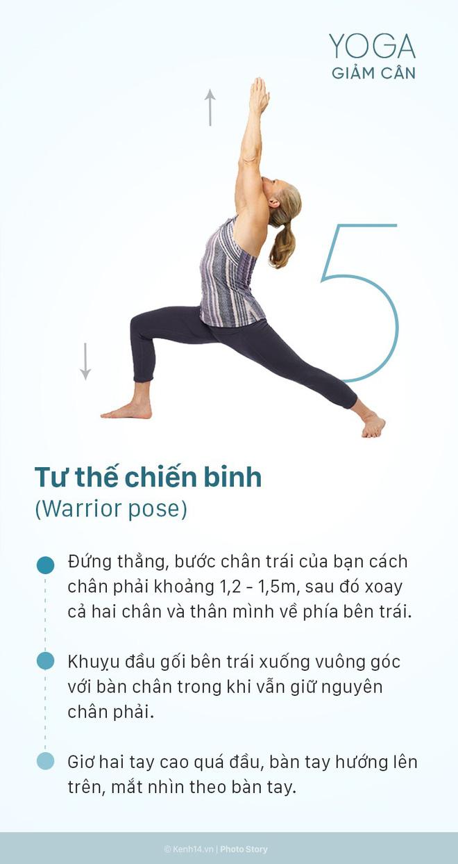 5 động tác yoga giảm cân toàn thân cực kỳ hiệu quả có thể thực hiện ngay tại nhà - Ảnh 9