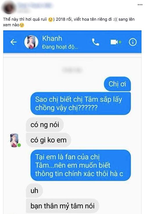 Phản ứng khó đỡ của dân mạng khi Lâm Khánh Chi tiết lộ 'tin mật' Mỹ Tâm sắp cưới chồng - Ảnh 2