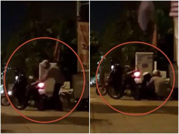 Bị dàn cảnh đánh ghen để cướp, nam thanh niên phóng xe chạy mất, bỏ mặc người yêu bị đánh đập - Ảnh 2