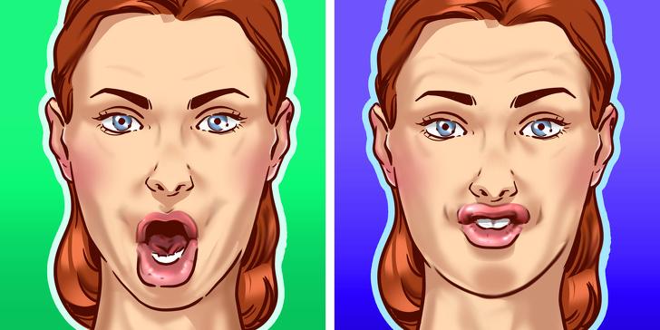 Các động tác đơn giản giúp khuôn mặt bạn trông thon gọn hơn rất nhiều sau vài ngày - Ảnh 1