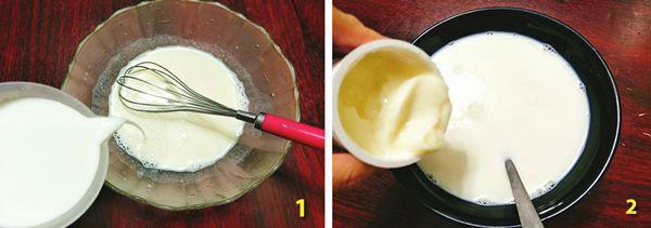 Cách làm sữa chua dẻo ngon, mịn đơn giản tại nhà - Ảnh 2