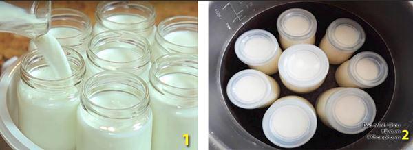 Cách làm sữa chua dẻo ngon, mịn đơn giản tại nhà - Ảnh 4