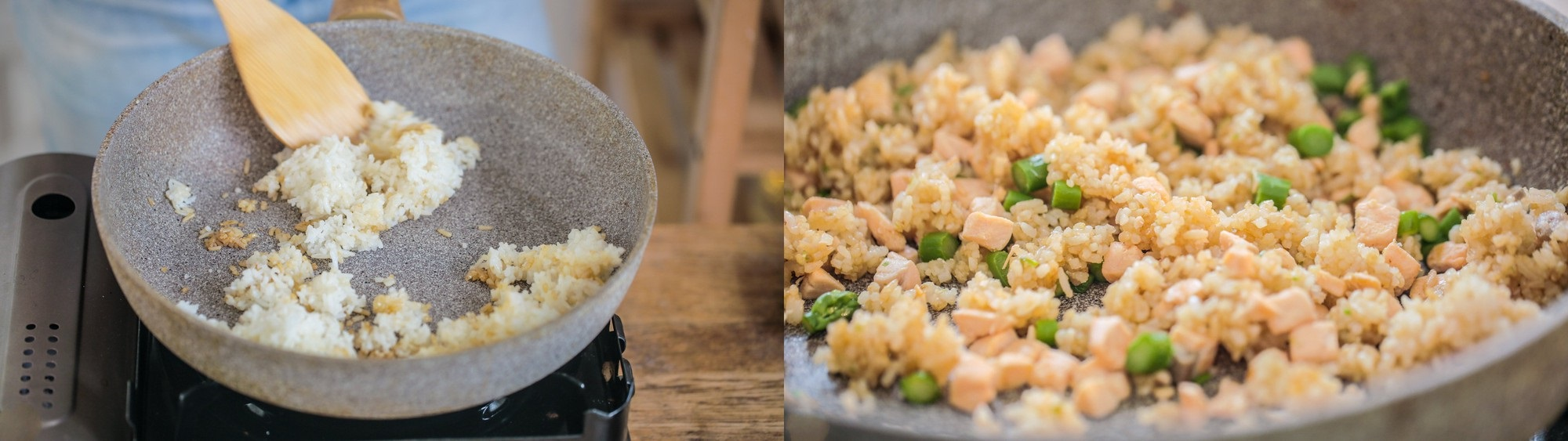 Thứ 2 bận rộn, tôi làm chảo cơm chiên cá hồi cho cả nhà là ngon lành đủ chất - Ảnh 3
