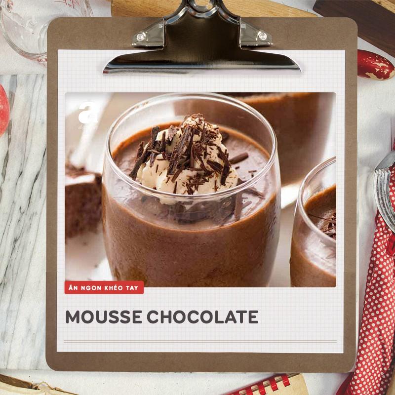 Mousse chocolate ngon thần sầu mà làm dễ lắm chẳng cần lò nướng, các mẹ thử ngay nhé! - Ảnh 6