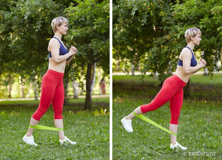 6 bài tập không cần chạy nhảy vẫn đốt cháy mỡ thừa cực nhanh giúp vóc dáng thon gọn, lộ rõ đường cong quyến rũ - Ảnh 2