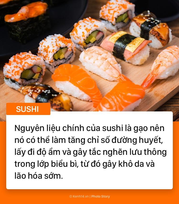 Những thực phẩm yêu thích của chị em nhưng lại tiềm ẩn nhiều nguy cơ gây hại cho làn da - Ảnh 1