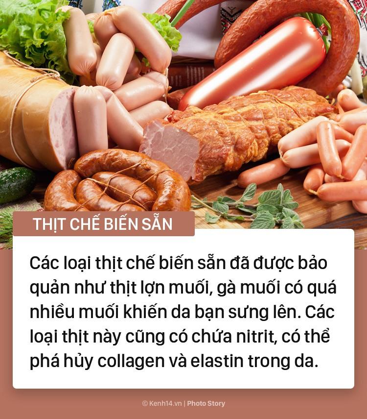 Những thực phẩm yêu thích của chị em nhưng lại tiềm ẩn nhiều nguy cơ gây hại cho làn da - Ảnh 3
