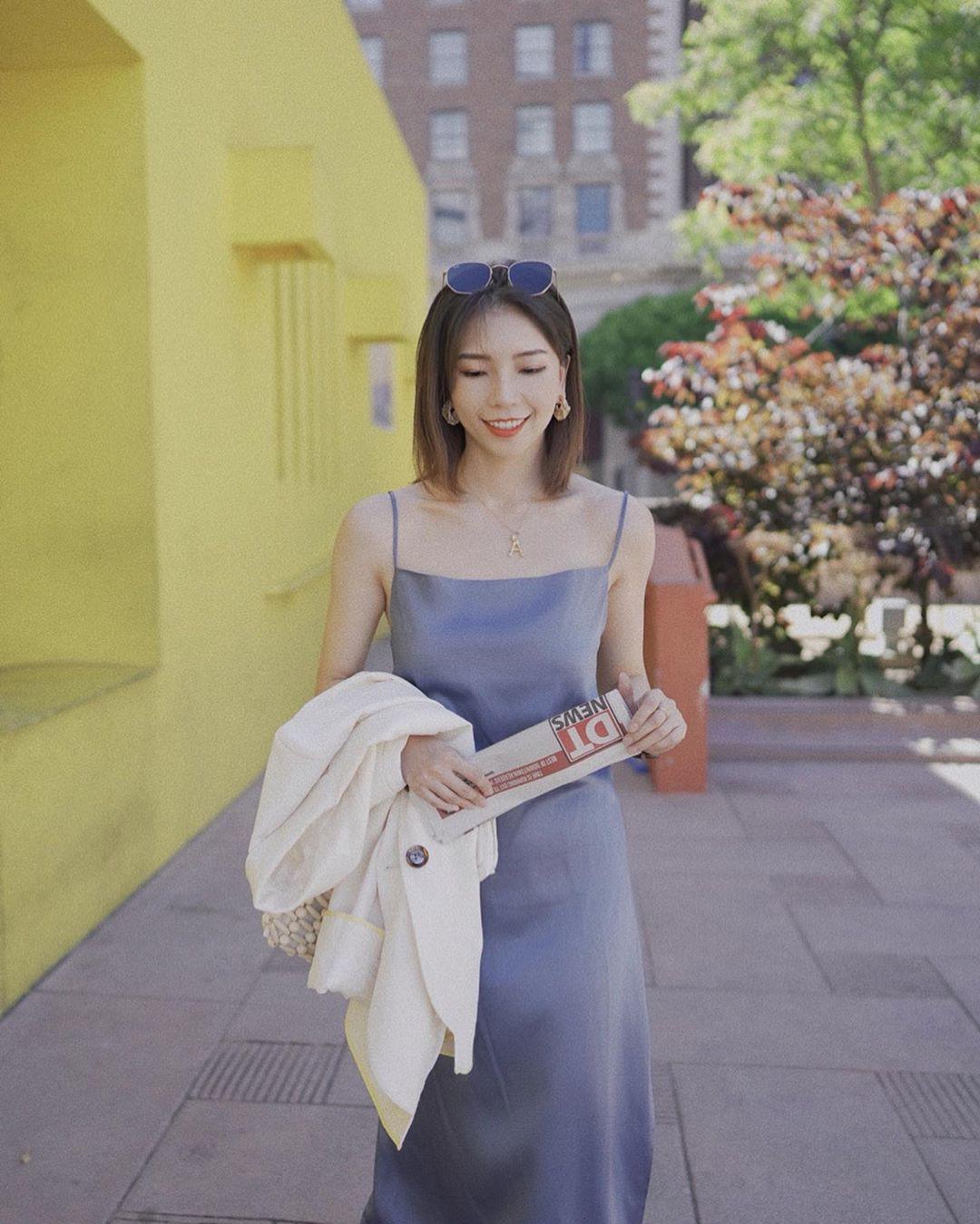 """4 mẫu váy đơn giản nhưng thừa độ sang chảnh, tinh tế giúp style của chị em """"sang trang"""" mới huy hoàng - Ảnh 8"""