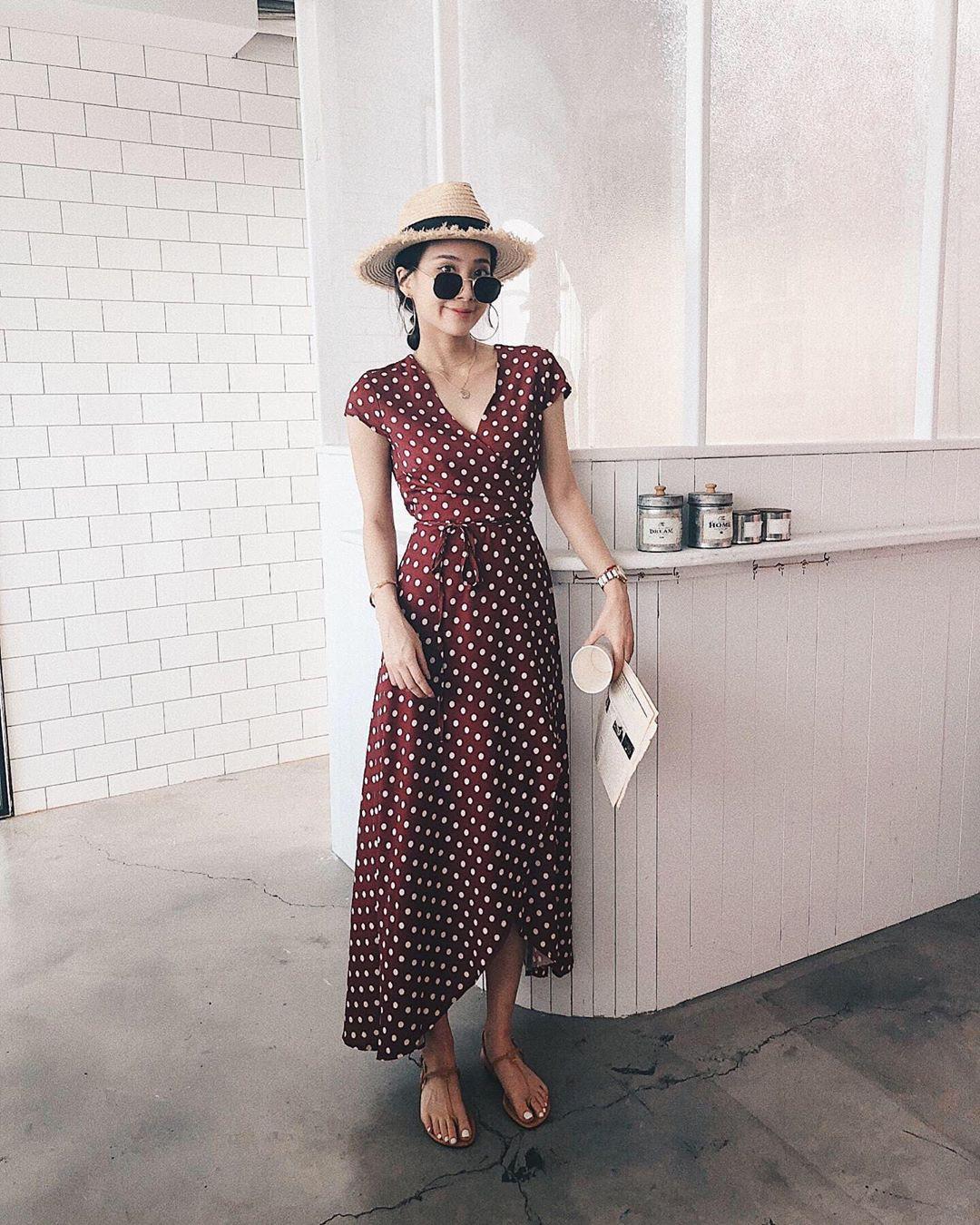 """4 mẫu váy đơn giản nhưng thừa độ sang chảnh, tinh tế giúp style của chị em """"sang trang"""" mới huy hoàng - Ảnh 10"""