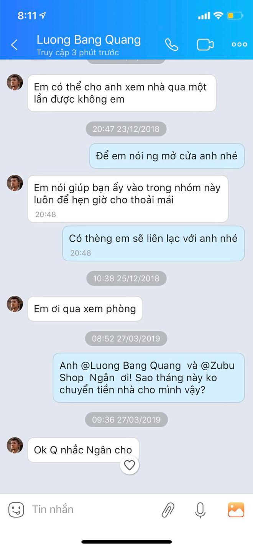 Bị tố quỵt tiền thuê nhà và ở bẩn, Ngân 98 lên mạng nói có người hại mình còn Lương Bằng Quang chỉ chờ để lấy lại đồ nội thất đã sắm cho tình cũ - Ảnh 5