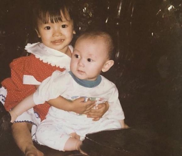 Rocker Nguyễn lần đầu chia sẻ loạt ảnh thuở nhỏ cùng chị gái - Ảnh 3