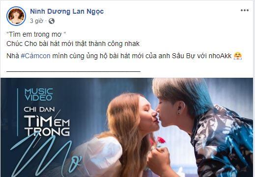 Ninh Dương Lan Ngọc ngầm công khai chuyện tình cảm với Chi Dân? - Ảnh 2