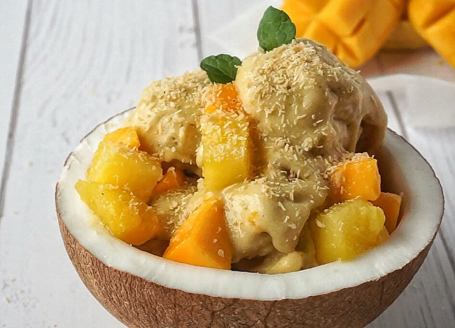 Món kem này làm chỉ từ 4 nguyên liệu siêu phổ biến mà ngon cực kỳ - Ảnh 5
