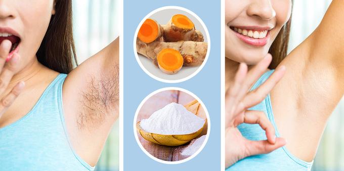 5 công thức tẩy lông vùng da dưới cánh tay - Ảnh 5