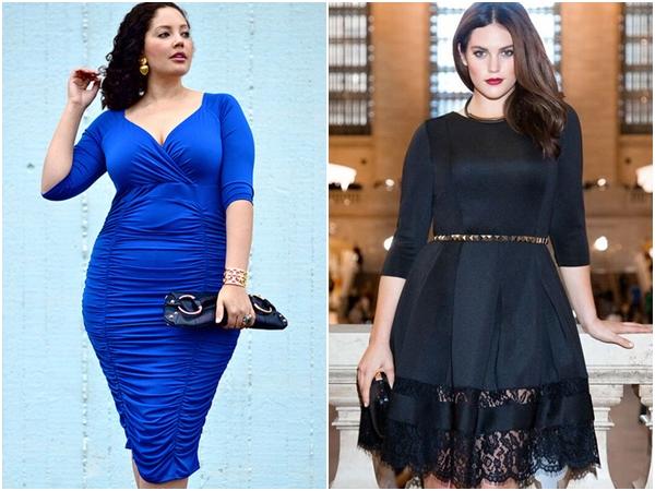 Đầm cho người mập – Những lưu ý nhất định phải nhớ để mặc đẹp mỗi ngày - Ảnh 11