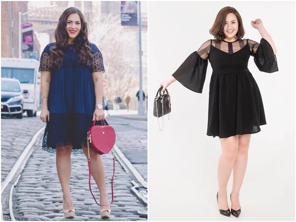 Đầm cho người mập – Những lưu ý nhất định phải nhớ để mặc đẹp mỗi ngày - Ảnh 4