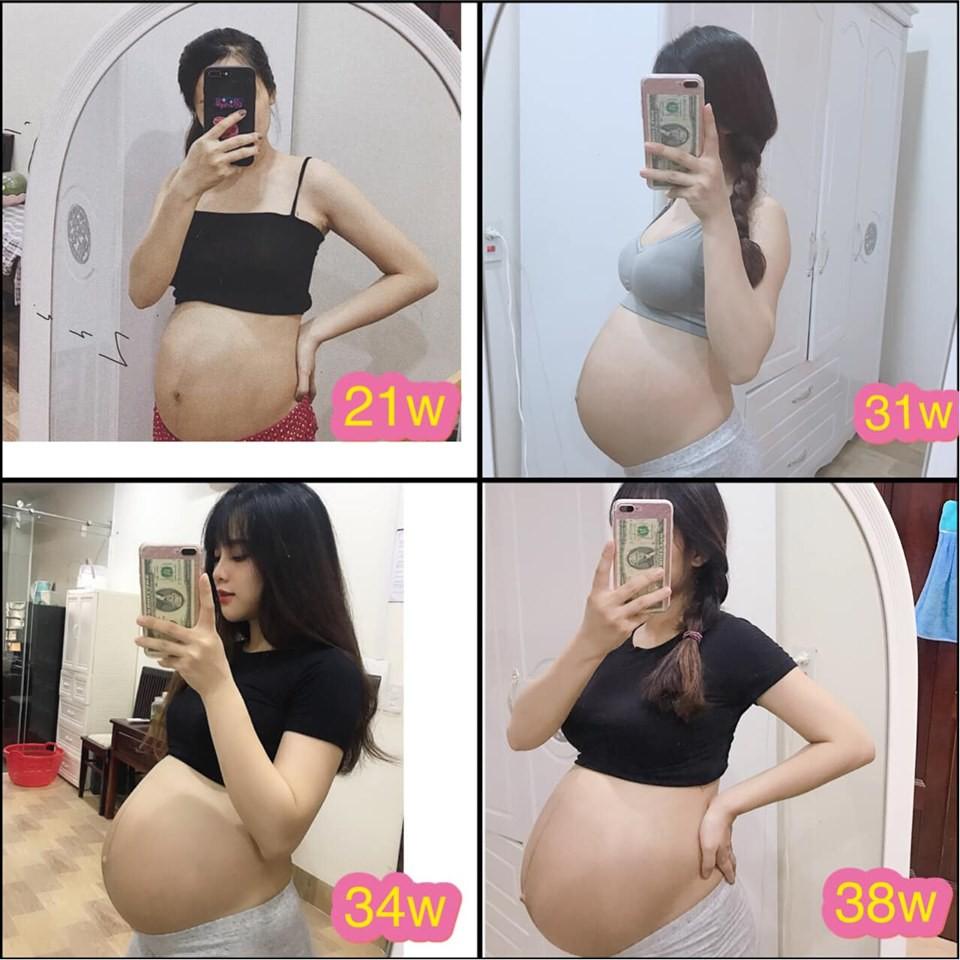 Mẹ bầu xinh như hot girl tiết lộ 2 thứ đồ ăn mỗi ngày để con tăng cân đều đặn mà mẹ vẫn thon gọn - Ảnh 1