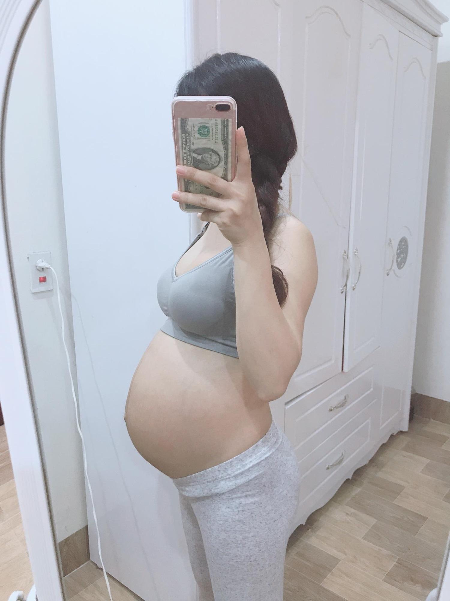 Mẹ bầu xinh như hot girl tiết lộ 2 thứ đồ ăn mỗi ngày để con tăng cân đều đặn mà mẹ vẫn thon gọn - Ảnh 6