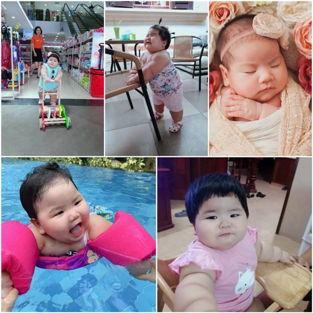 Nuôi con bằng sữa mẹ, bé gái Nghệ An 11 tháng nặng 20kg, mỗi tháng tăng 2kg - Ảnh 1