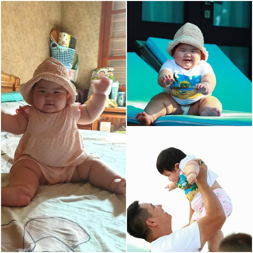 Nuôi con bằng sữa mẹ, bé gái Nghệ An 11 tháng nặng 20kg, mỗi tháng tăng 2kg - Ảnh 8