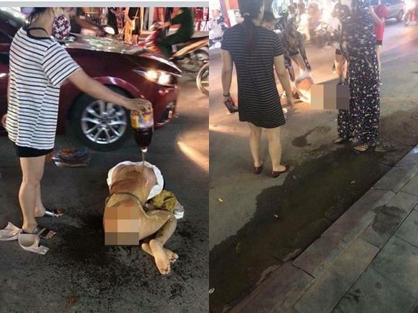 Xôn xao hình ảnh thiếu nữ nghi bị đánh ghen giữa đường, đổ mắm tôm bê bết lên đầu - Ảnh 4