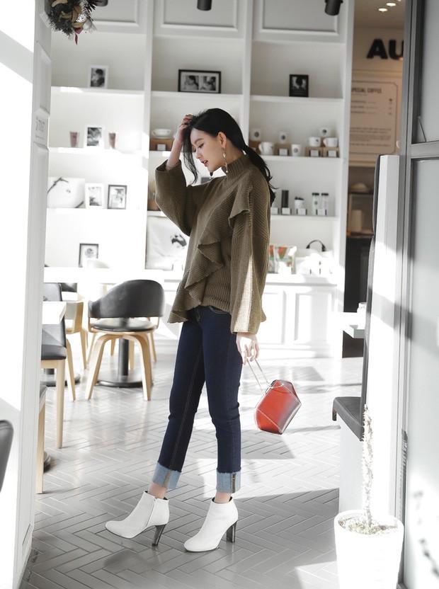 Boots + quần dài: Công thức chưa bao giờ hết hot nhưng mix theo 3 cách này mới là chất nhất - Ảnh 8