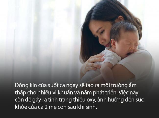Có thể các mẹ không thể tin nổi, bây giờ vẫn có bà đẻ kiêng cữ 21 ngày không gội đầu, đánh răng - Ảnh 4