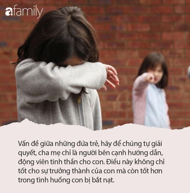 Đứa trẻ đi học về nức nở hỏi 'con bị đánh có thể đánh trả không?', câu trả lời của người mẹ thật đáng khen - Ảnh 3