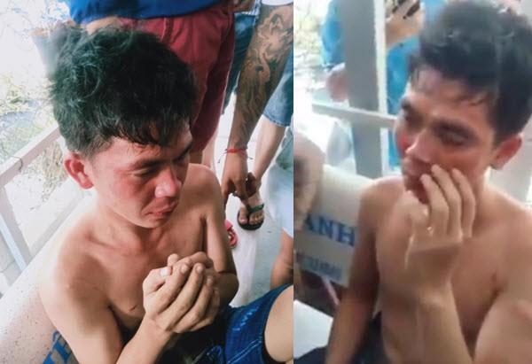 Gã trai hé lộ điều bất ngờ khi bị dân xã hội đánh tóe máu vì tát và dọa giết con nhỏ - Ảnh 1