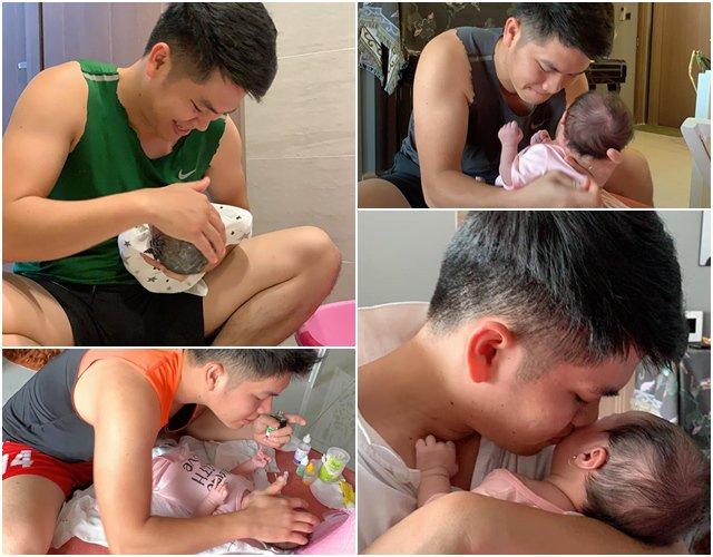 Lê Phương tiết lộ cảnh bỉm sữa của hai vợ chồng sau khi sinh thêm con gái - Ảnh 1