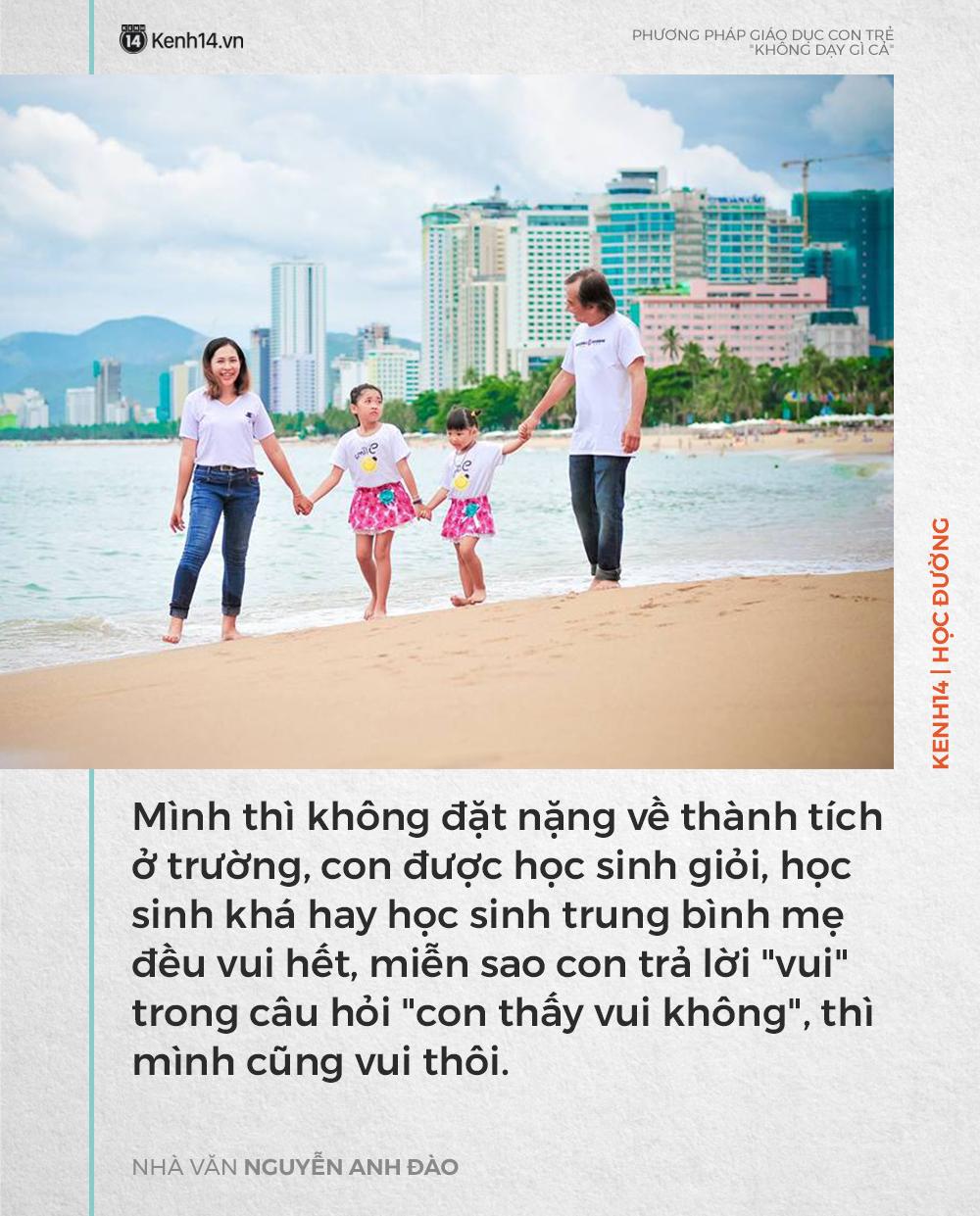 Phương pháp dạy con 'không dạy gì cả' của nhà văn Nguyễn Anh Đào nhưng kết quả lại khiến nhiều người bất ngờ - Ảnh 3