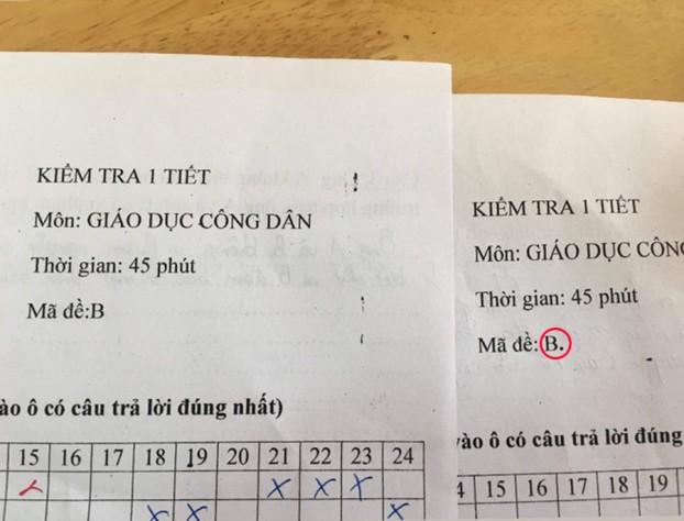 Thấu hiểu tâm lý học sinh trong giờ kiểm tra, cô giáo đặt mã đề cực độc khiến ai nấy phì cười - Ảnh 2