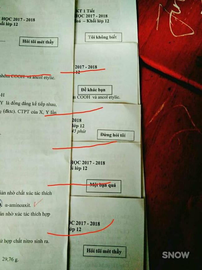 Thấu hiểu tâm lý học sinh trong giờ kiểm tra, cô giáo đặt mã đề cực độc khiến ai nấy phì cười - Ảnh 7