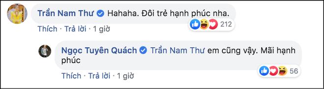 Tình cũ Quách Ngọc Tuyên công khai bạn gái, Nam Thư chỉ nói 1 câu đã được khen cư xử đẹp - Ảnh 2