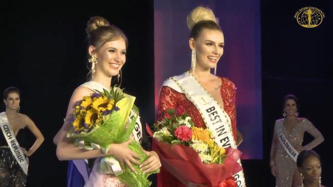 Đi loạng choạng, biểu cảm khó hiểu, Ngân Anh tiếp tục 'trắng tay' tại Miss Intercontinental 2018 - Ảnh 4