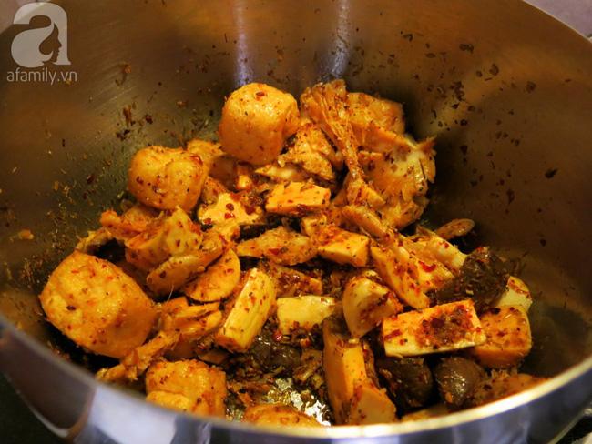Ngày Rằm tháng Giêng học cách làm món bún bò chay là chuẩn không cần chỉnh - Ảnh 6