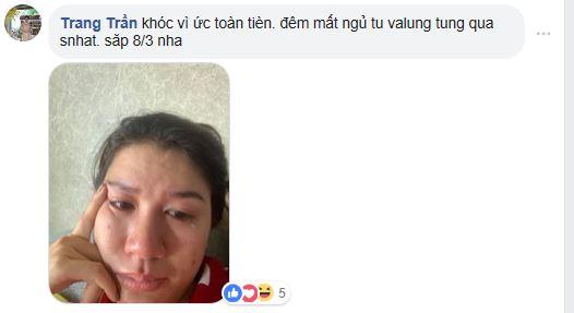 Ngày sinh nhật được chồng tặng hẳn cọc tiền USD, Trang Trần lại bật khóc vì... 'ức' - Ảnh 2