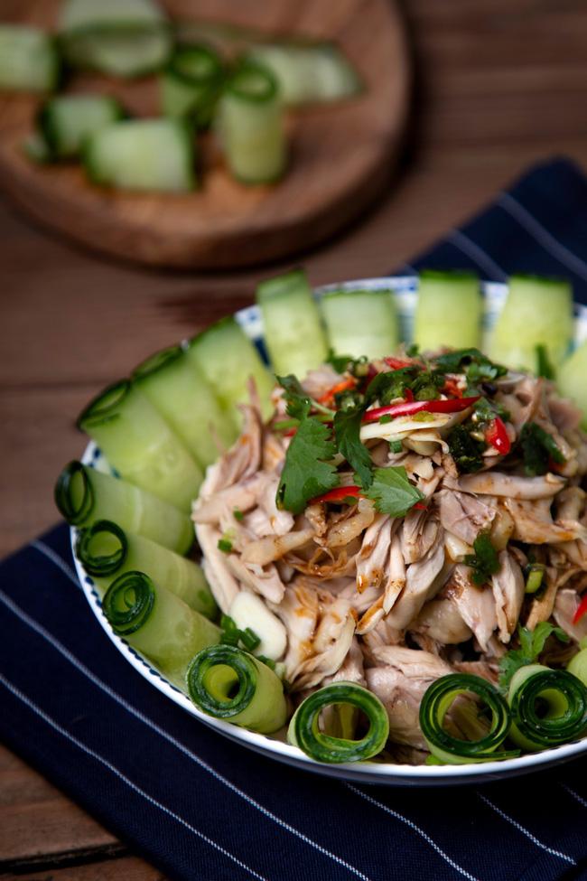 Cả nhà mắt tròn mắt dẹt bất ngờ với đĩa salad tôi làm vì ngon đẹp còn hơn cả nhà hàng - Ảnh 9
