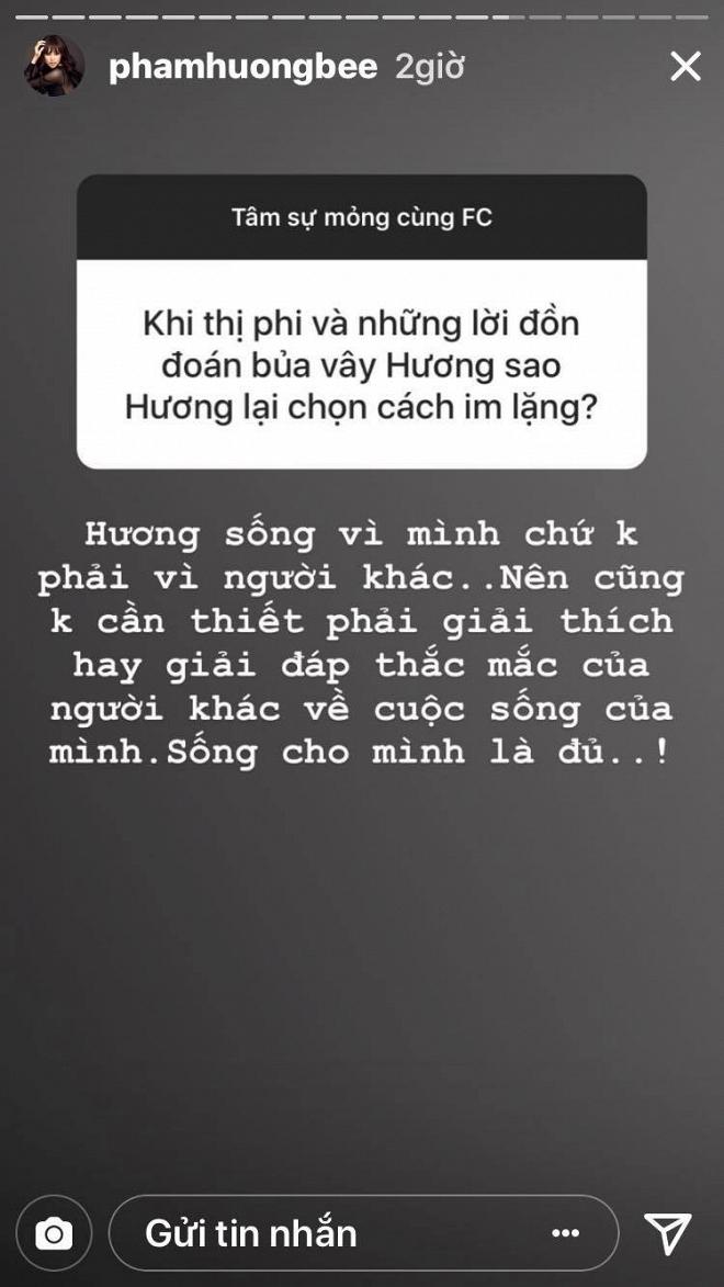 Thẳng thắn nói về nguyên nhân im lặng trước scandal từ fan nhưng Phạm Hương lại từ chối hết câu hỏi về nghi án sinh con - Ảnh 3