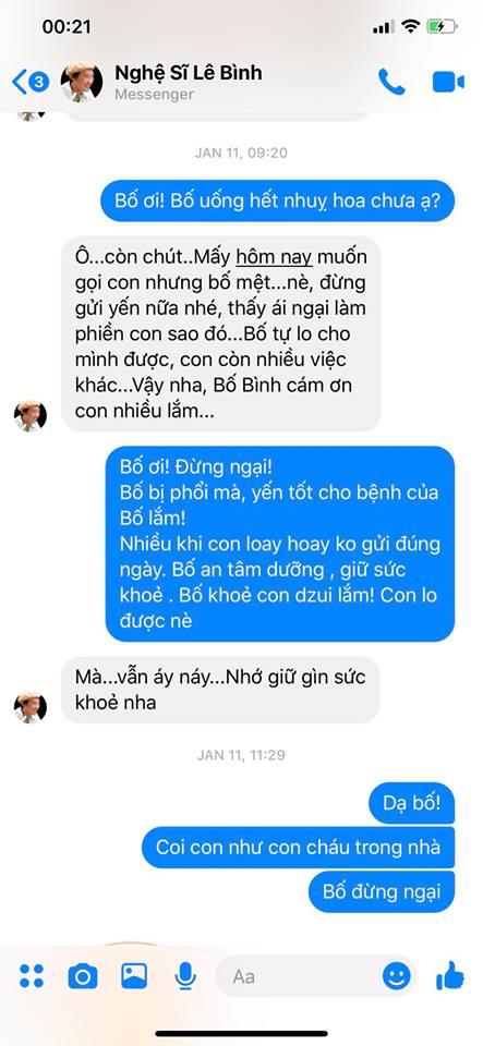 Tâm thư đẫm nước mắt Thanh Thảo gửi 'bố' Lê Bình, tiết lộ nỗi ám ảnh khi nuôi mẹ liệt giường - Ảnh 3