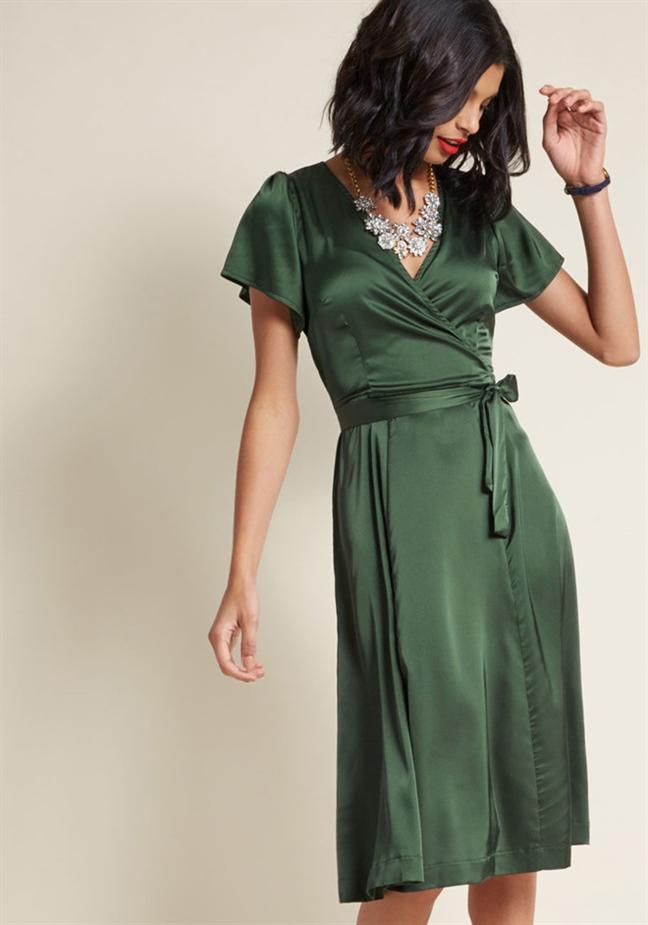Wrap dress - chiếc váy mùa hè xinh tươi cho mọi cô nàng - Ảnh 10
