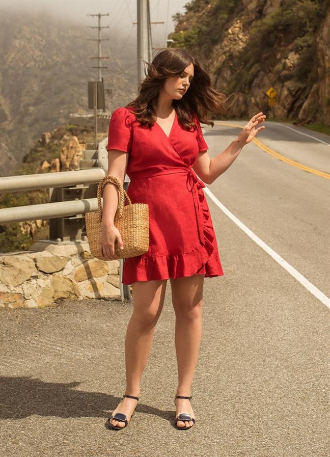 Wrap dress - chiếc váy mùa hè xinh tươi cho mọi cô nàng - Ảnh 4