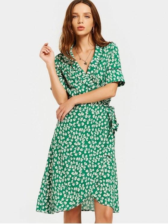 Wrap dress - chiếc váy mùa hè xinh tươi cho mọi cô nàng - Ảnh 5