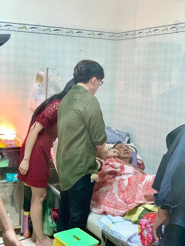Xót xa với tâm sự đầy nước mắt của nghệ sĩ Lê Bình tại bệnh viện qua lời kể của Cát Phượng - Ảnh 4