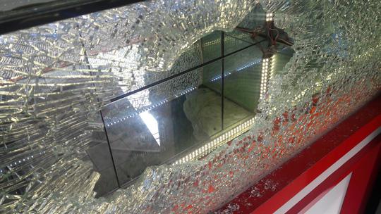 Cận cảnh vụ cướp tiệm vàng ở Quảng Nam - Ảnh 2