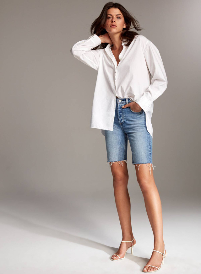 3 kiểu quần jeans được dự báo sẽ cực thịnh hành trong mùa hè này, chị em hãy nhớ 'bắt trend' ngay - Ảnh 4